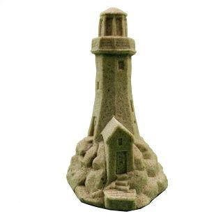 """Mr. Sandman Lighthouse Sand Castle Figurine 812 - 4.75"""" Tall"""